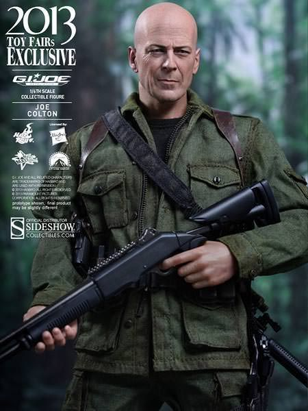 Picture Gallery for Hot Toys MMS206 Bruce Willis Figure  G.I. Joe Retaliation