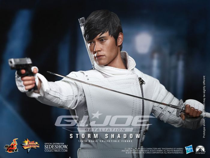 Picture Gallery for Hot Toys MMS193 Storm Shadow Figure  G.I. Joe Retaliation
