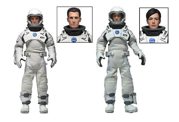 Picture Gallery for Neca 14925 Brand and Cooper 2 Pack Figure Set  Interstellar