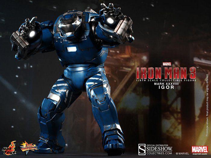 Picture Gallery for Hot Toys MMS215 Igor Mk XXXVIII Figure  Iron Man 3