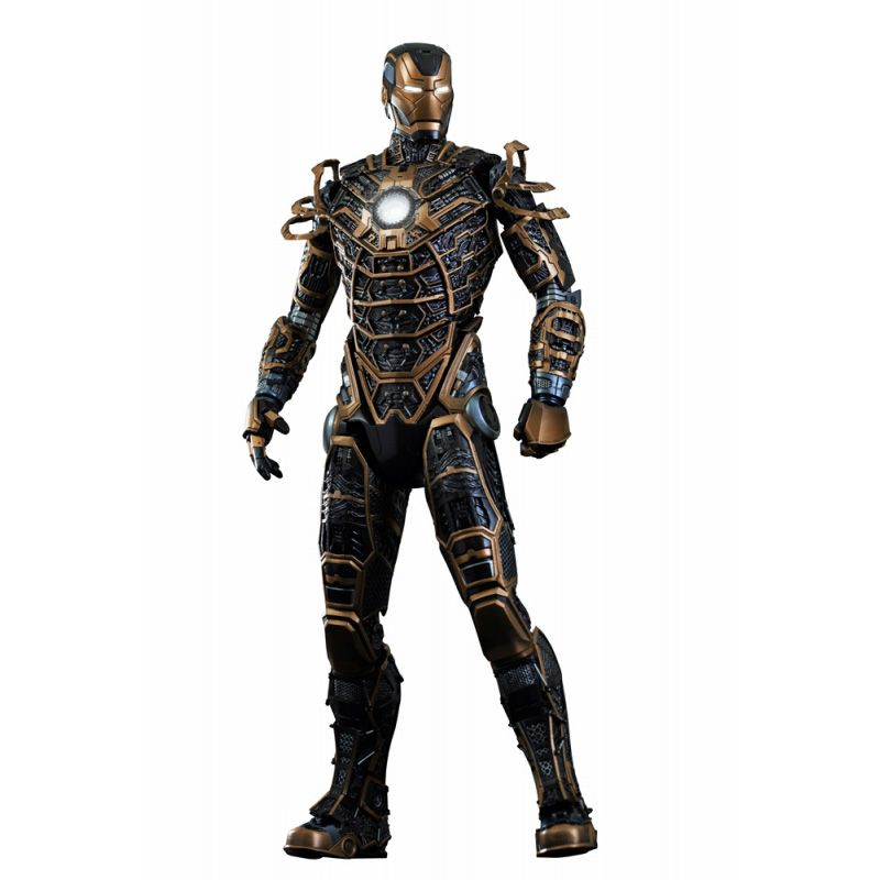 Picture Gallery for Hot Toys MMS251 Iron Man Mark XLI Bones Version Poseable Figure  Iron Man 3