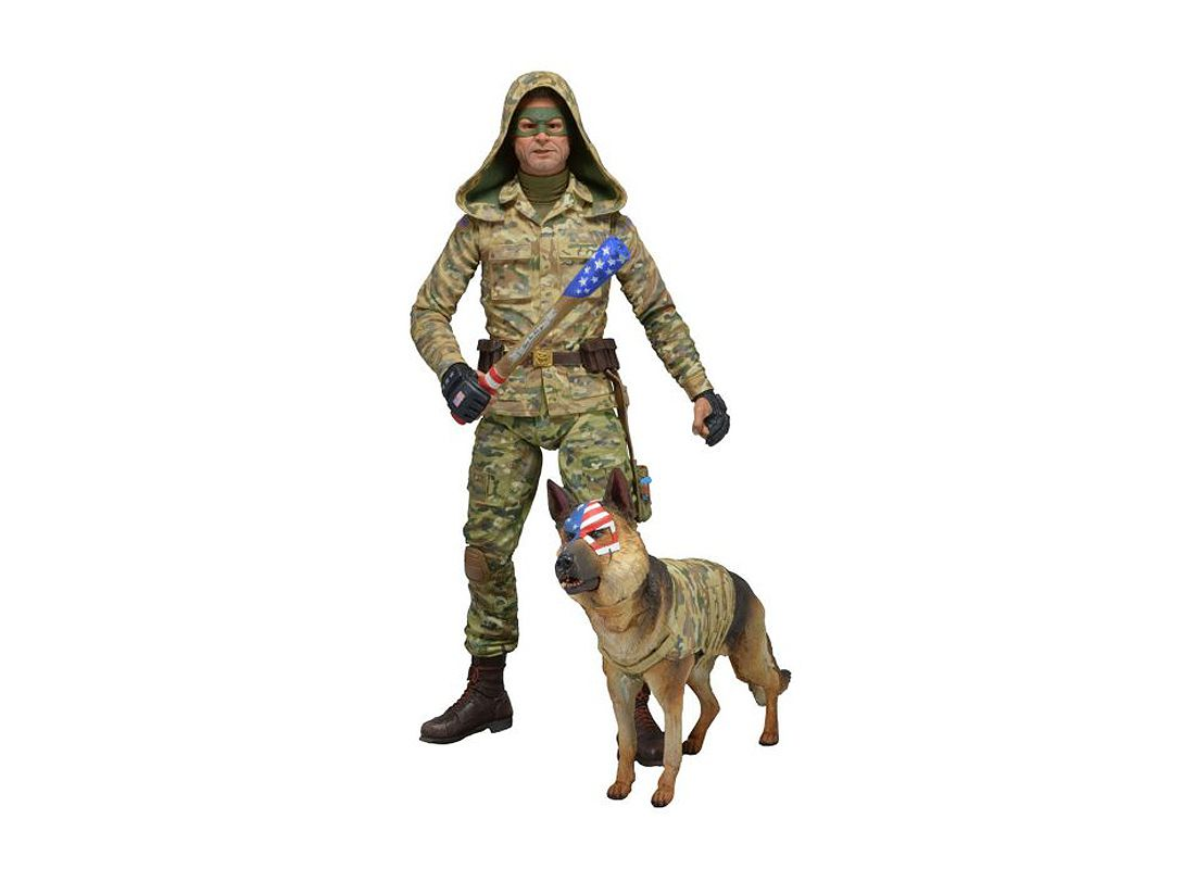 Picture Gallery for Neca 12124 Colonel Stars and Stripes (Hood Up) Figure  Kick Ass 2