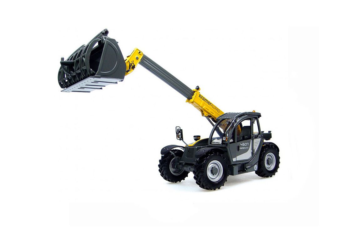 Picture Gallery for Universal Hobbies 1000174833 Kramer 4507 Telehandler with Recycling Bucket Diecast Farm M