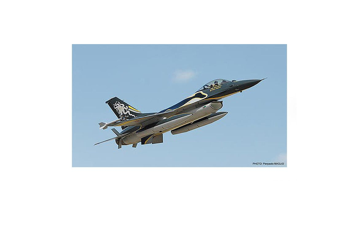 Picture Gallery for Hasegawa HS01997 Lockheed F-16A ADF Fighting Falcon