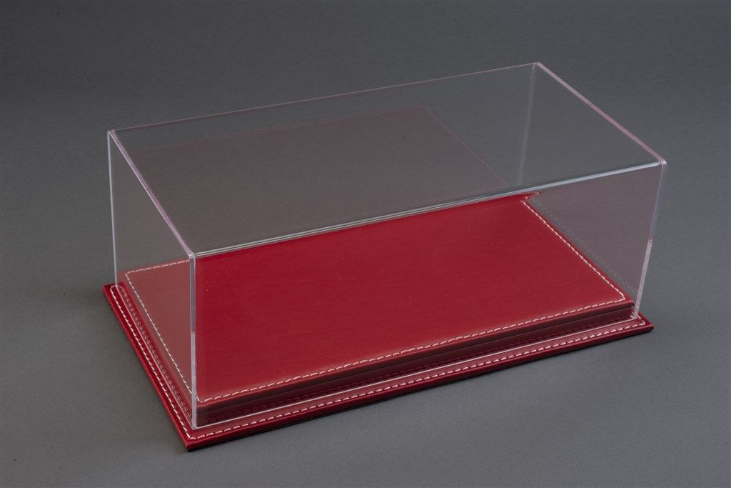 Picture Gallery for Pocher ATL10072 Luxury Red Leather Stitched Base Display Case