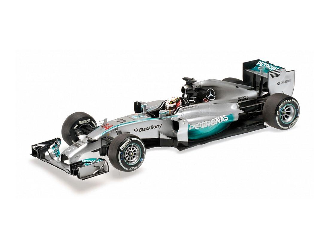 Minichamps 1:43 Mercedes AMG Petronas F1 team W04 Nico Rosberg GP de Estados Unidos 2013