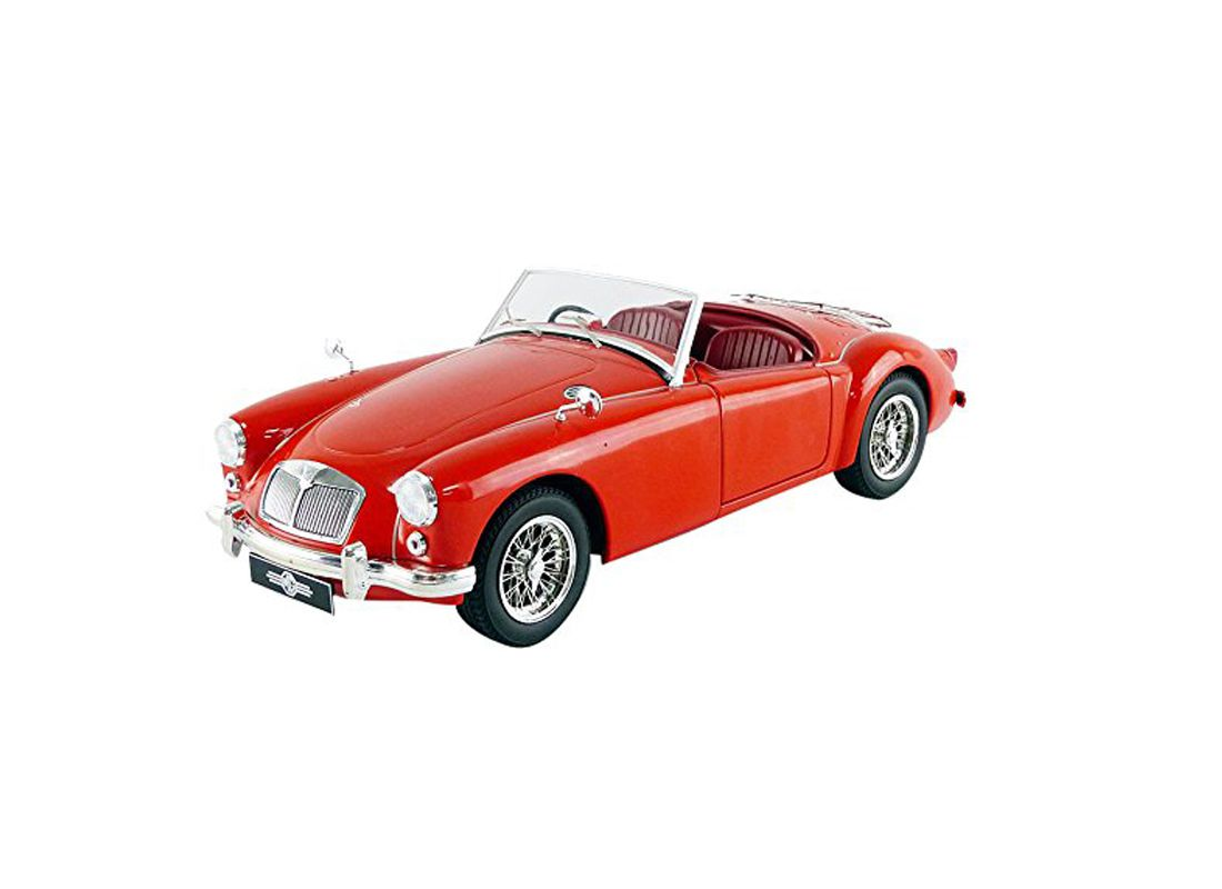 1957 MGA MKI A1500 Open Convertible 1:18 Red Triple-9 1800160
