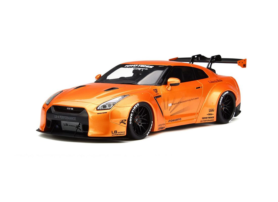 Picture Gallery for GT Spirit 742 Nissan GT R R-35 LB Edition