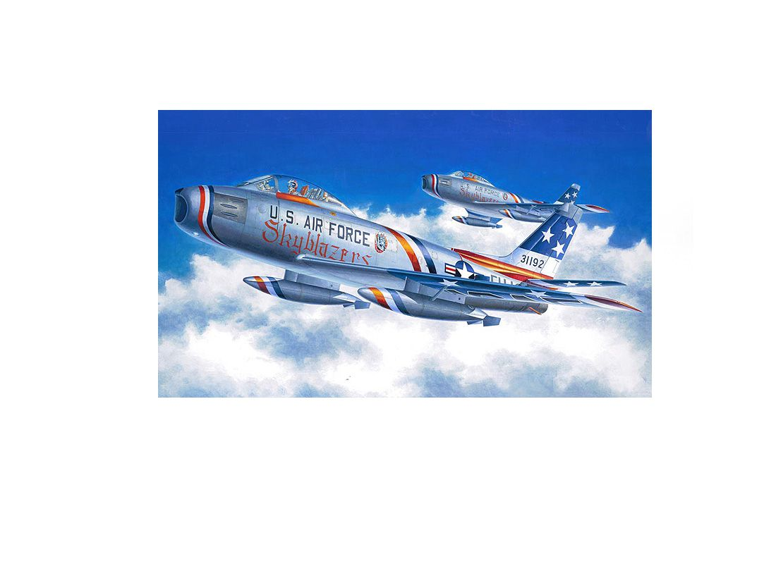 Picture Gallery for Hasegawa HS09969 North American F-86 F-35
