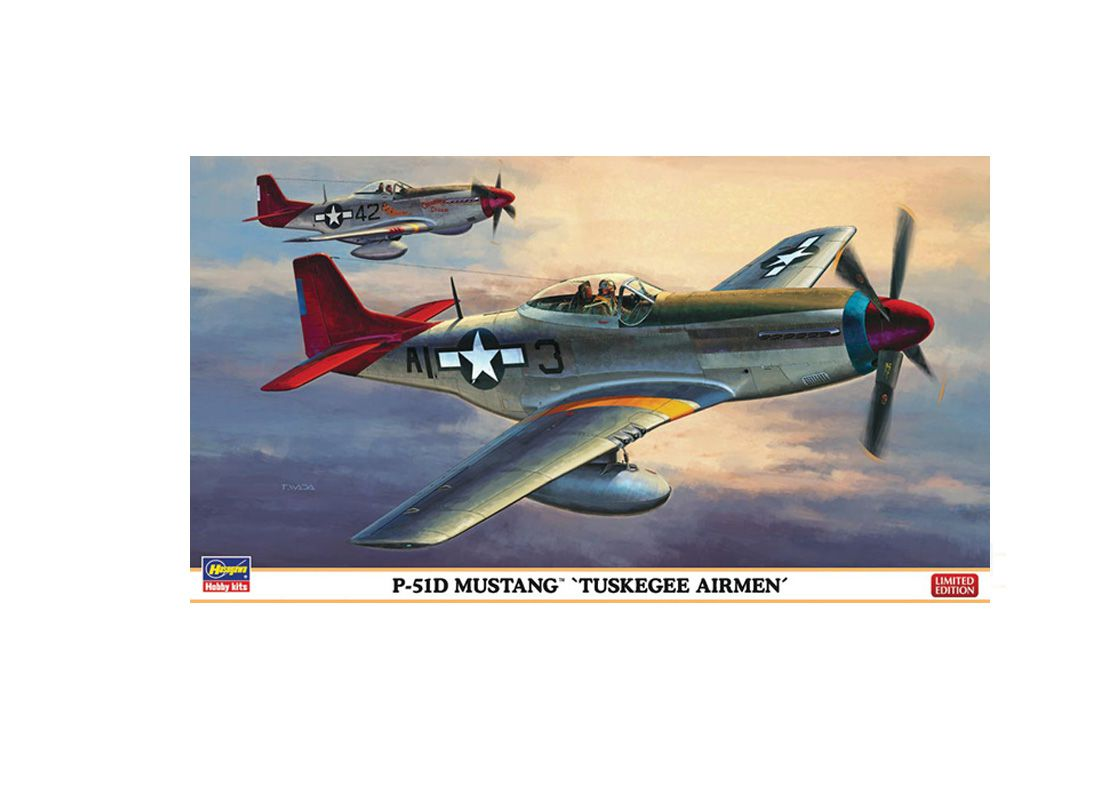Picture Gallery for Hasegawa HS09947 North American P-51 D Tuskegee Airmen