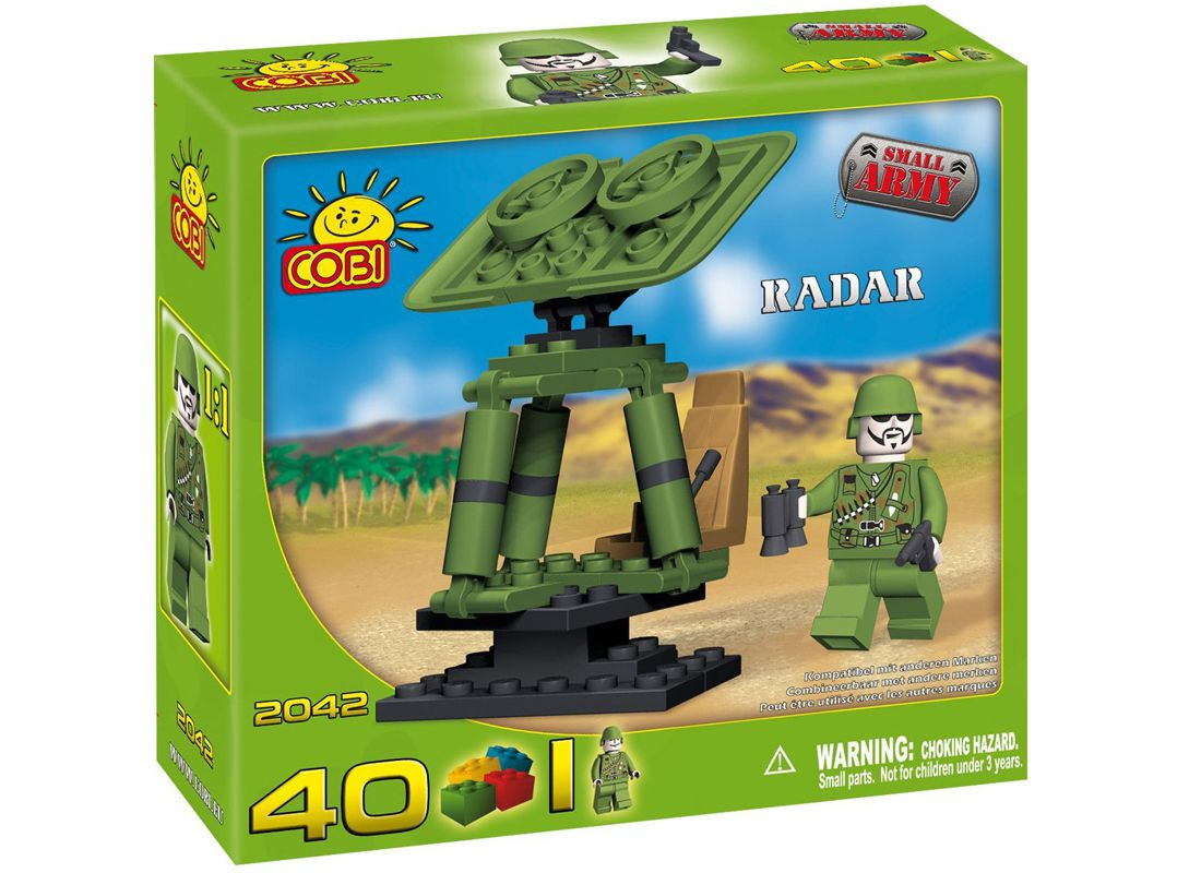 Picture Gallery for COBI COB2042 Radar Small Army