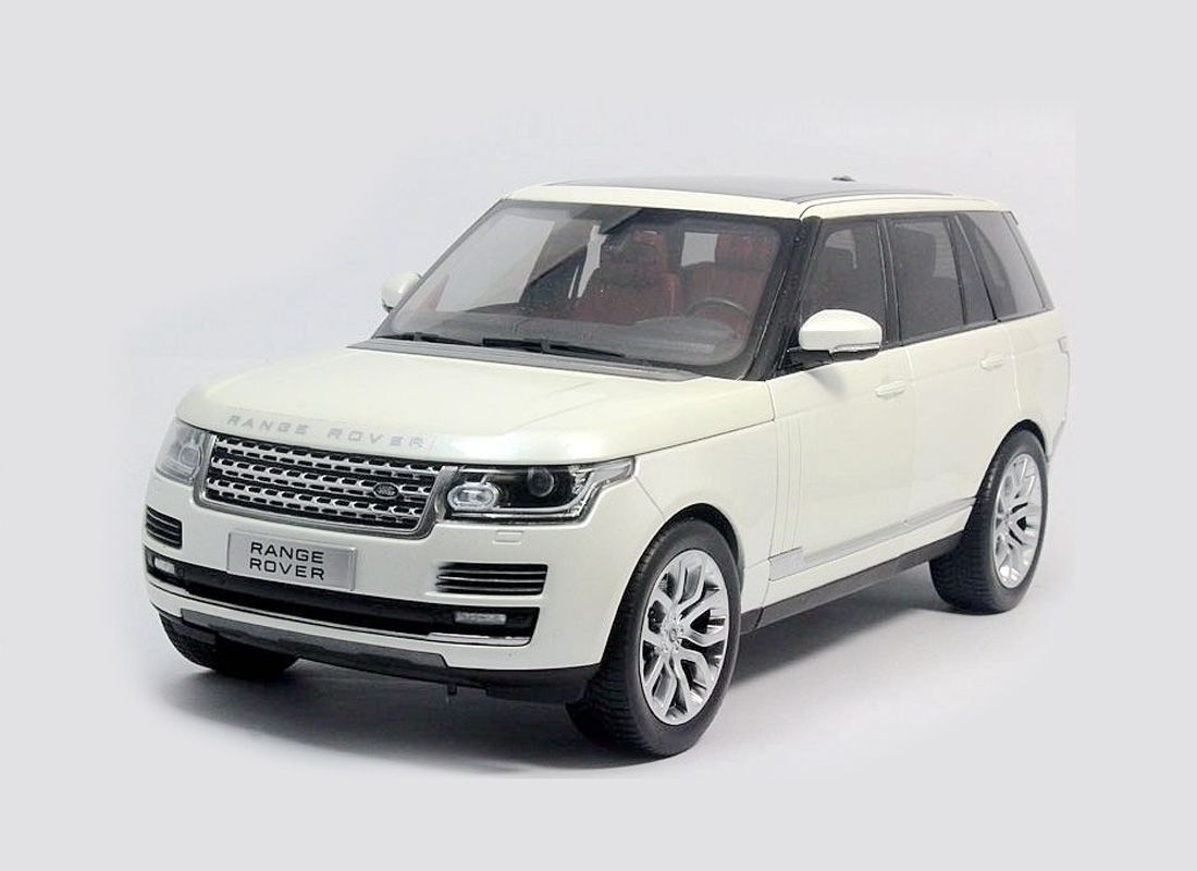Picture Gallery for Welly 11006MWHITE Range Rover Vogue (2013)