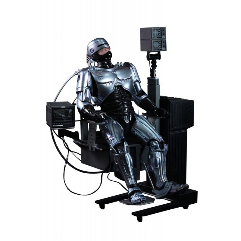 Picture Gallery for Hot Toys MMS203 Robocop with Mechanical Chair Poseable Figure  Robocop