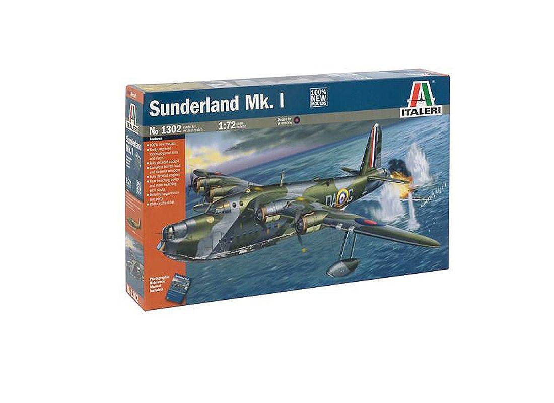 Picture Gallery for Italeri ITA1302 Short Sunderland Mk I
