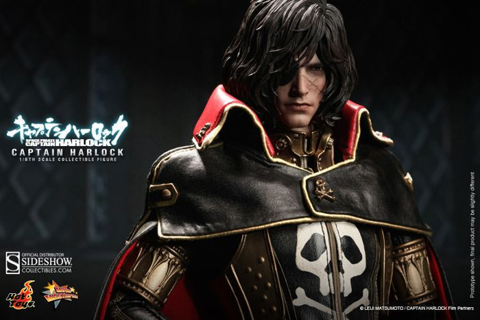 Picture Gallery for Hot Toys MMS222 Captain Harlock Poseable Figure  Space Pirate Captain Harloc