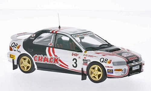 Picture Gallery for Trofeu 607 Subaru Impreza 4x4 Turbo (Paul Liater - Boucles De Spa 1995)