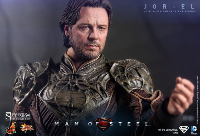 Picture Gallery for Hot Toys MMS201 Russell Crowe Figure  Superman Man Of Steel