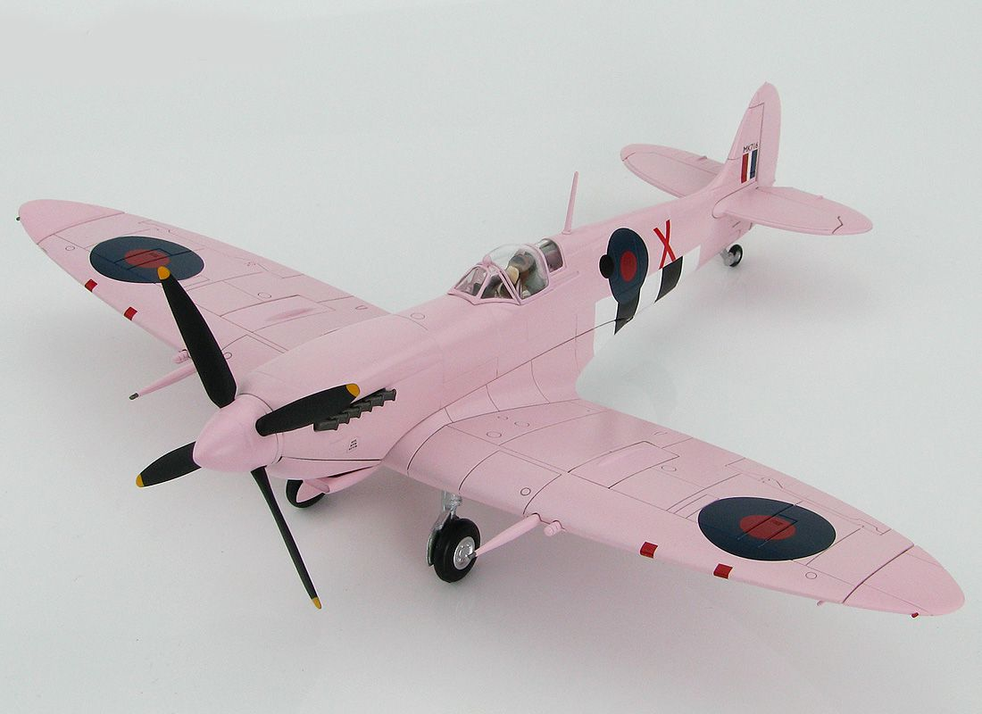 Picture Gallery for Hobby Master HA8314 Supermarine Spitfire FR.IX MK716 coded X (RAF 16 Sqn Normand