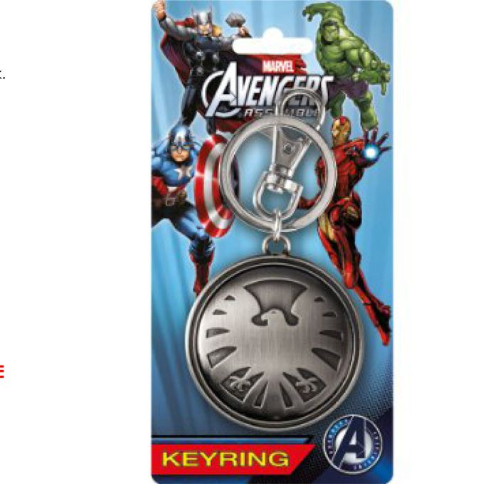 Picture Gallery for Monogram Inc MG67886 Avengers Eagle Pewter Keychain  The Avengers