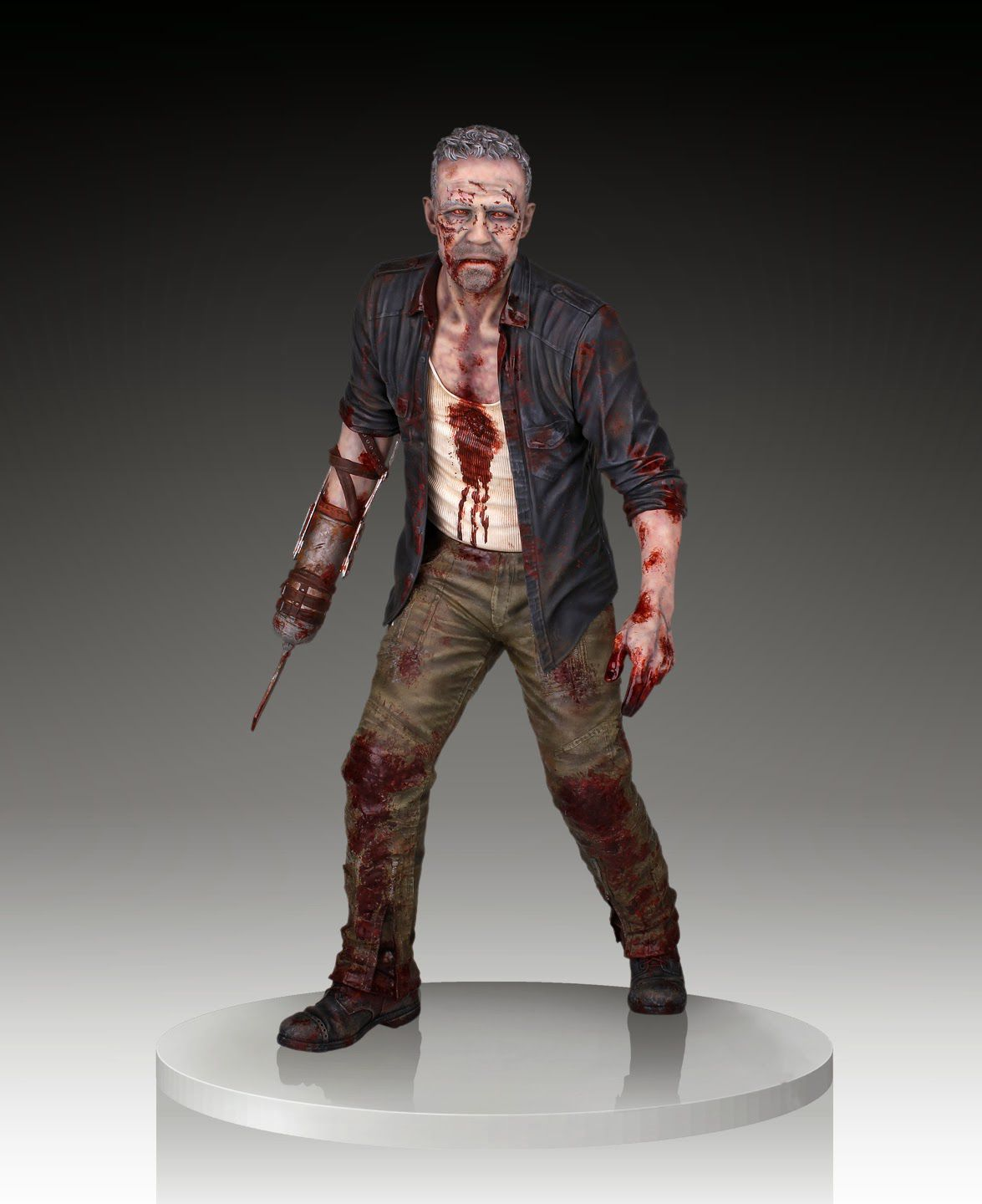 Picture Gallery for Gentle Giant 80374 Merle Dixon Walker Polystone Statue  The Walking Dead