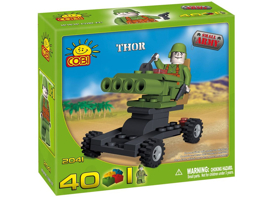 Picture Gallery for COBI COB2041 Thor Small Army