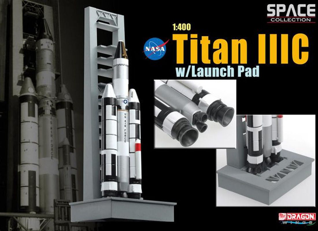 Picture Gallery for Dragon 56228-03 Titan IIIC on NASA Launch Pad Spacecraft