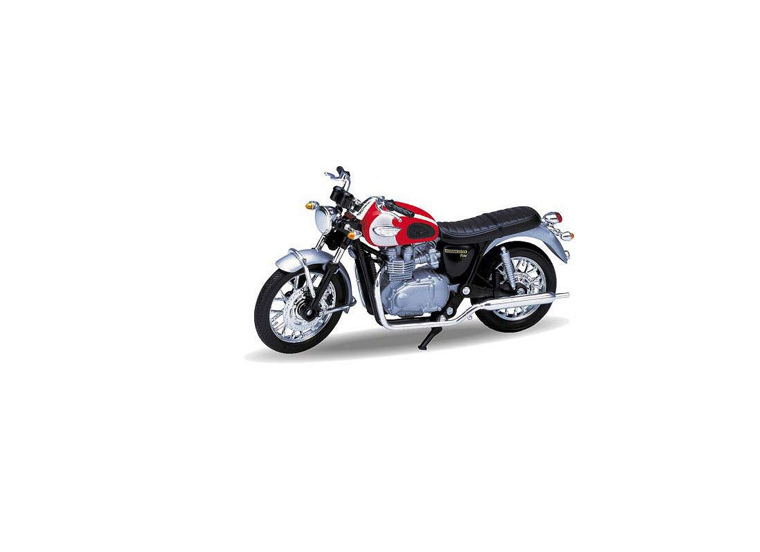 Picture Gallery for Welly W12172 Triumph Bonneville T100 (2002)  - Motorcycle