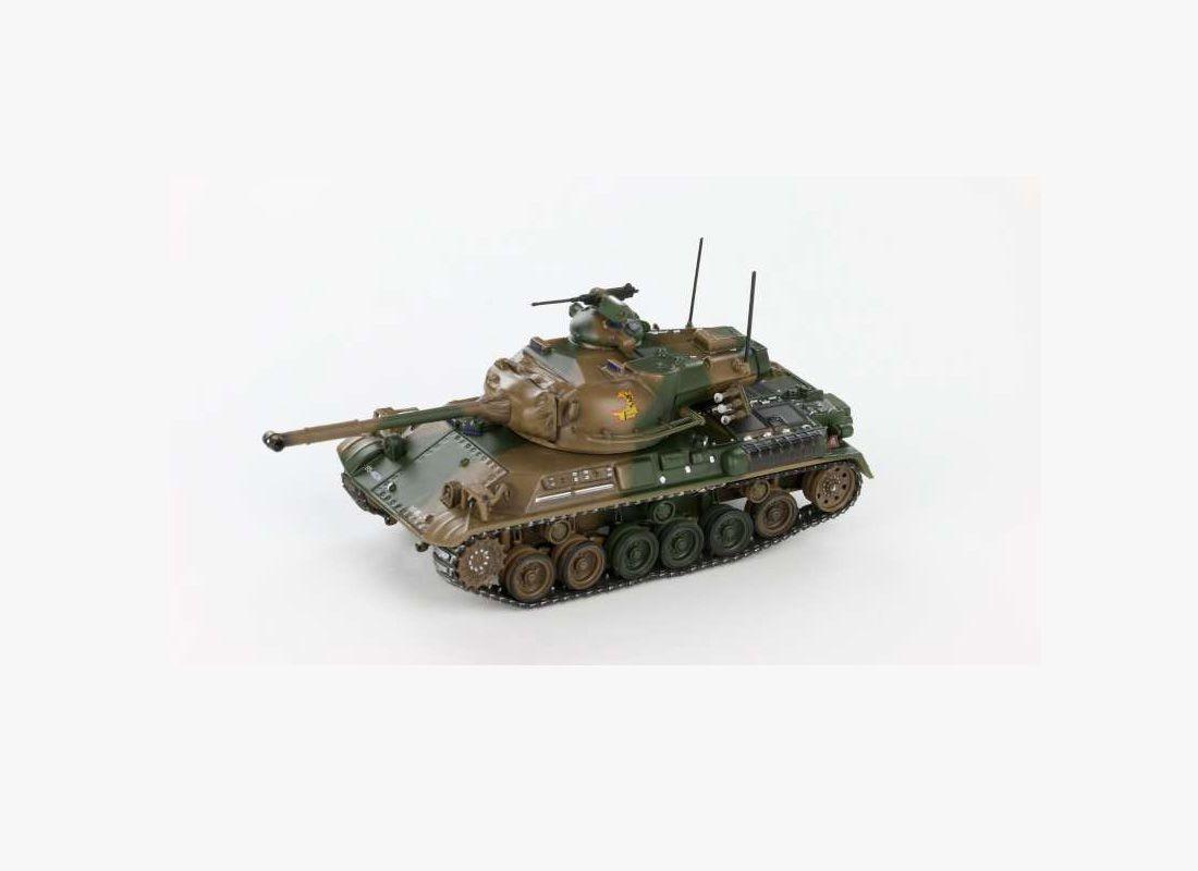 Picture Gallery for War Master TK0058 Type 61 90mm Motorised Gun (Japan 1970)  - Tank