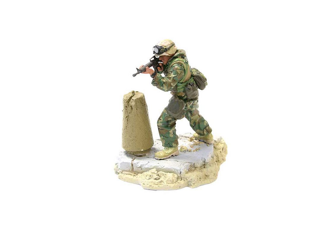 Picture Gallery for Forces of Valor UN89007 US Marine 3rd Battalion Figure [1:72 scale]