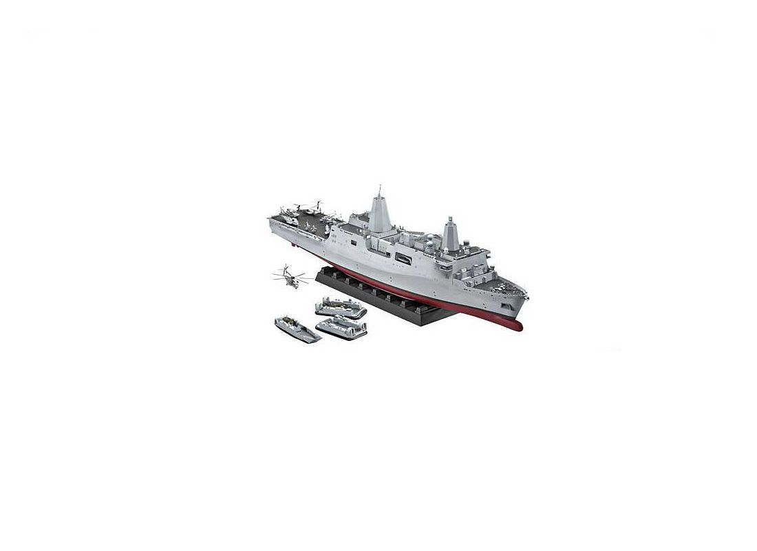 Picture Gallery for Revell 5118 USS New York Amphibious Transport Dock