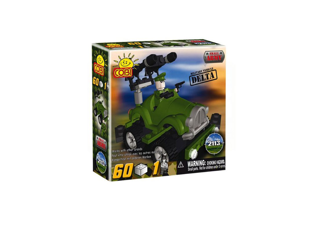 Picture Gallery for COBI COB2113 Vehicle Delta Small Army