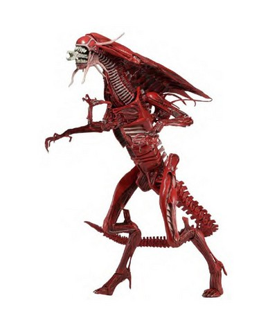 Alien Queen Ultra Deluxe Red Version Poseable Figure  Alien