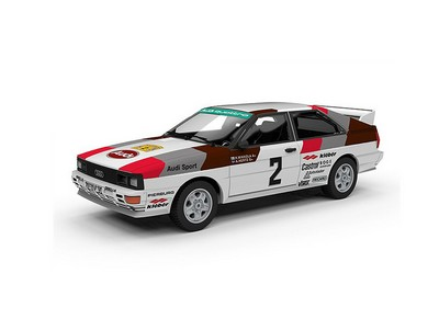 Picture Gallery for Trofeu TRSCA26 Audi Quattro (Hannu Mikkola - Swedish Rally 1981)