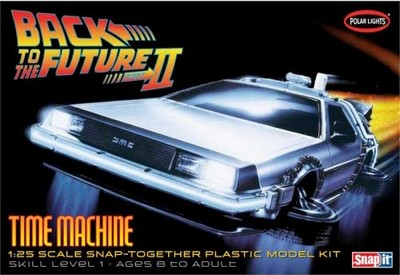 De Lorean DMC 12  - Kit  Back To The Future Part 2