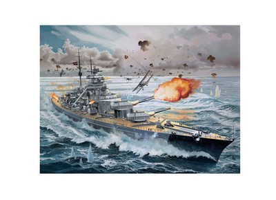 Picture Gallery for Revell 5040 Bismarck