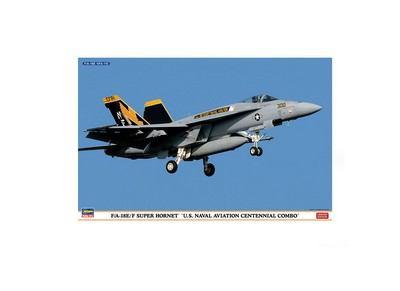 Picture Gallery for Hasegawa HS01963 Boeing FA-18E Super Hornet Combo