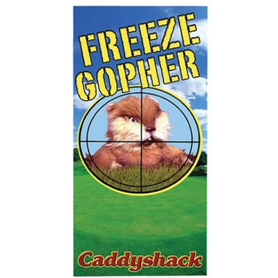 Picture Gallery for Factory FE408768 Gopher Beach Towel  Caddyshack