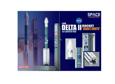 Picture Gallery for Dragon 56334-03 Delta II Rocket GPS-IIR-16 on Launch Pad Spacecraft