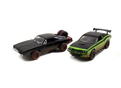 Dodge Charger and Challenger Model Car Set  Fast And Furious