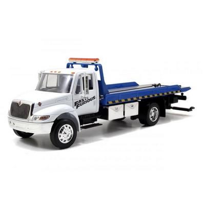 International Durastar 4400 Flat Bed Truck  -  Fast And Furi