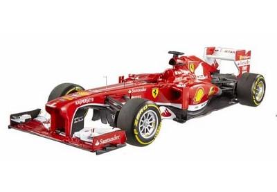 Picture Gallery for Mattel BCT82 Ferrari F2013 (Fernando Alonso - Elite Edition 2013)