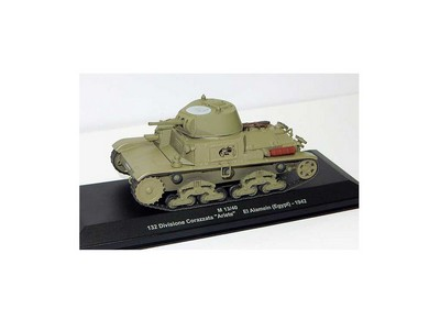 Picture Gallery for Ex Mag EX12 Fiat Ansaldo M13 40 (132 Division Corazzata - El Alamein Egy