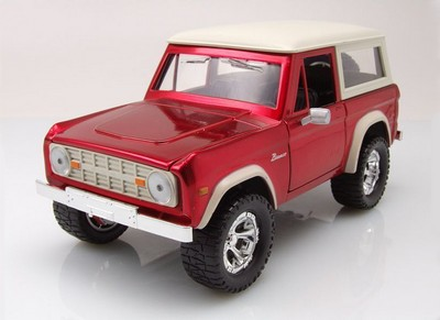 Picture Gallery for Jada JA97824WA1R Ford Bronco Hardtop (1973)