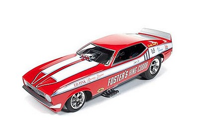 Picture Gallery for ERTL AW1117 Ford Mustang King Cobra NHRA Funny Car (1972)
