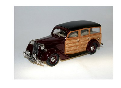 Picture Gallery for Brooklin LDM116 Ford Pilot Station Wagon (1949)