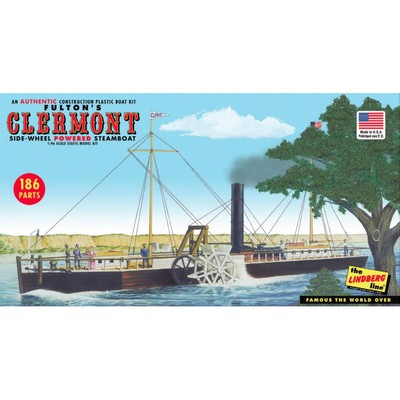 Fultons Clermont Paddle Wheel Steamship