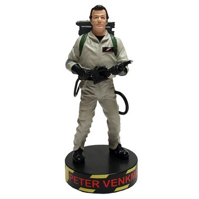 Peter Venkman Talking Shakems Statue  Ghostbusters
