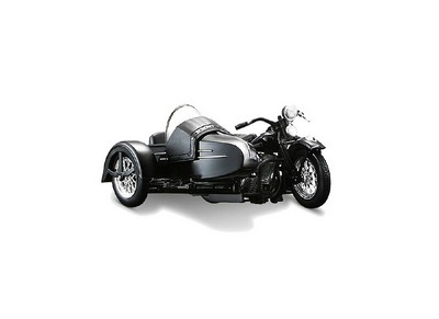 Picture Gallery for Maisto 3174 Harley Davidson Panhead FL with Sidecar (1948)  - Motorcycle