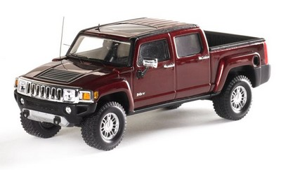 Picture Gallery for Luxury Diecast 101300 Hummer H3T (2006)
