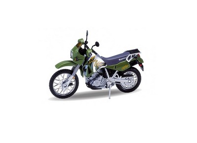 Picture Gallery for Welly 12170 Kawasaki KLR 650 (2002)  - Motorcycle
